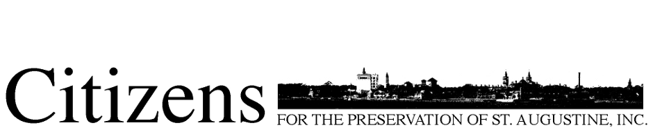 Citizens for the Preservation of St. Augustine, Inc.